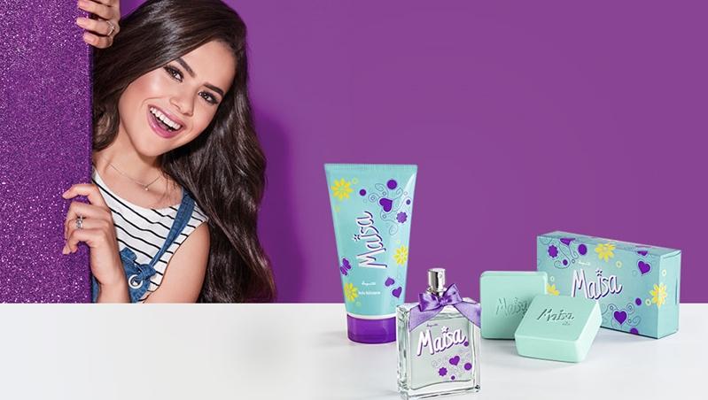 Beleza  Estrela teen Maisa lança coleção com a Jequiti - Soda Pop 8d087faeff