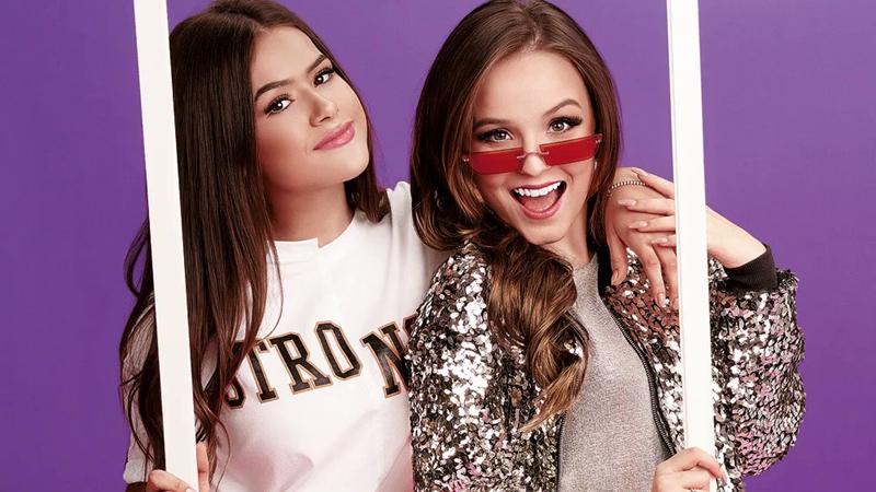 Beleza  Larissa Manoela e Maisa lançam dois perfumes,  Selfie, com a ... 52dd95e39f